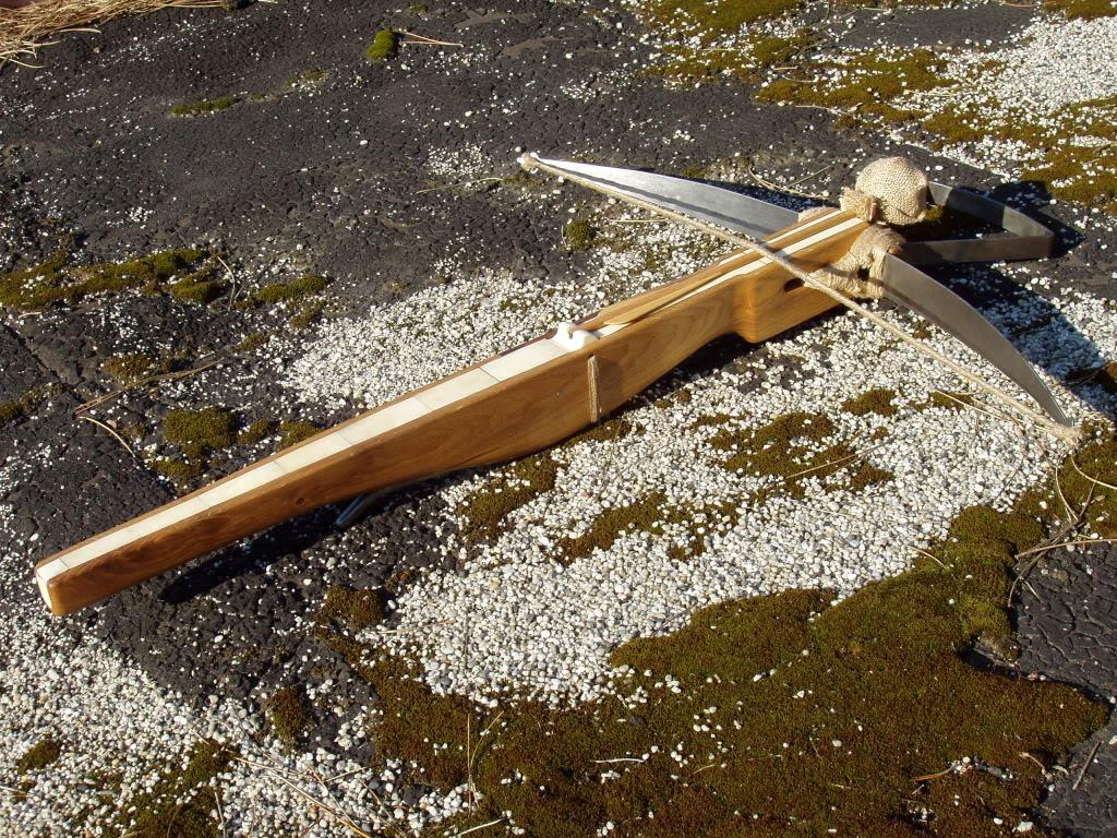 My bone inlay crossbow Kp005
