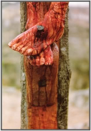 The Real Meaning of Easter Jesus-feet