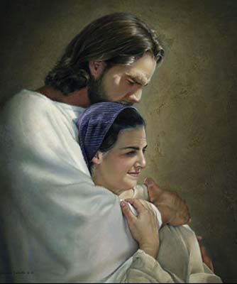TWO IMAGES Jesus-love