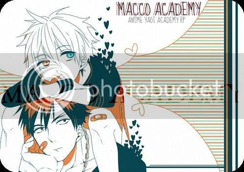 Macco Boys Academy;; Anime Yaoi RP BANNA