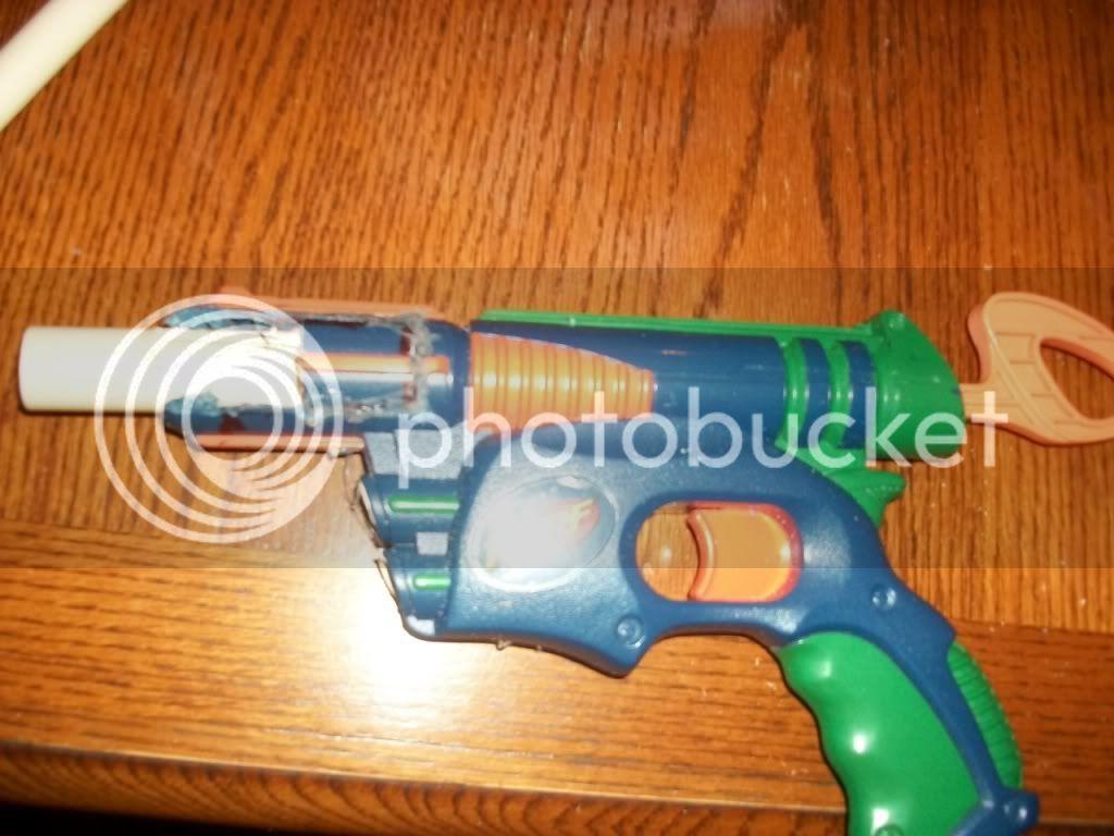 Breeched Tech Target Gun Dizzy103