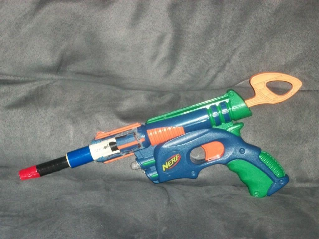 Breeched Tech Target Gun Dizzy109
