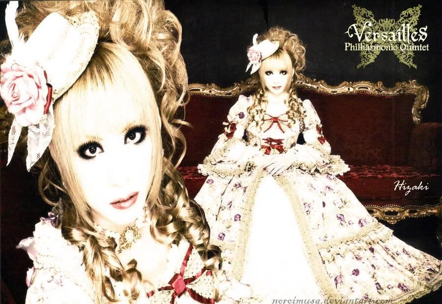 galeria de hizaki Versailles_Hizaki_by_Noroimusa