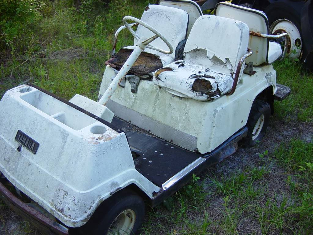 My Golf Cart Before1