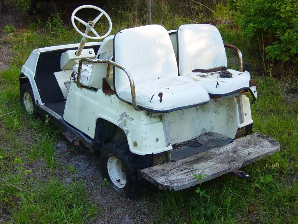 My Golf Cart Before3