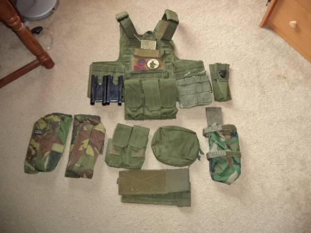 Appraisal MarCiras vest and pouches OD Green DSC00682_zps809d9a88