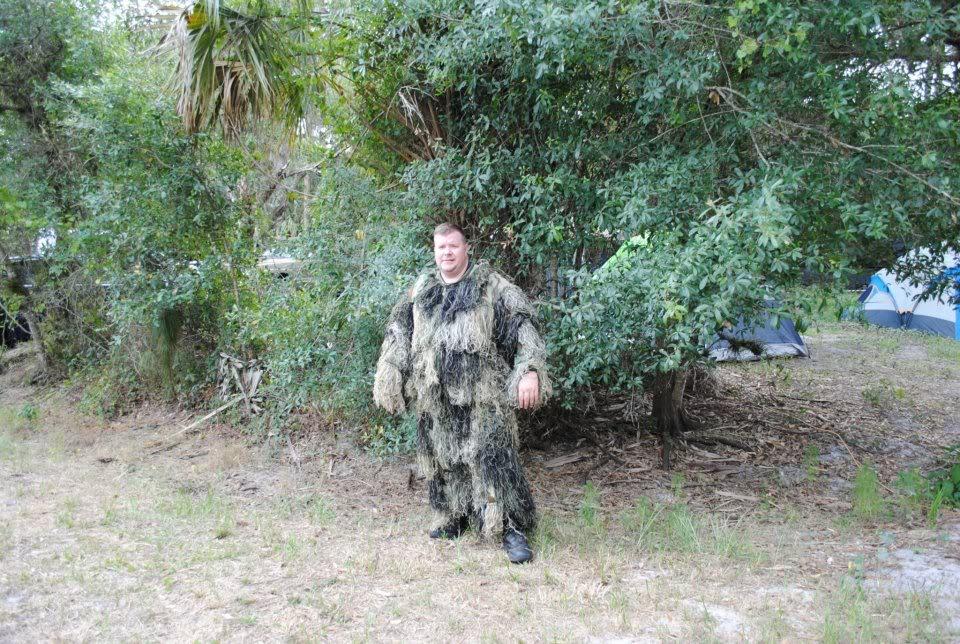 Saving Private Ryan May 12 & 13 Punta Gorda, FL Ghillieman