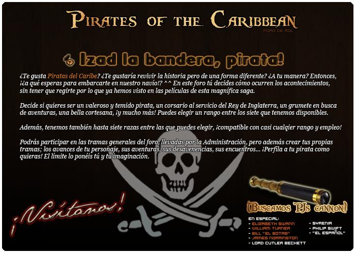 Pirates of the Caribbean {Élite} AfiliacinCartel700x5002