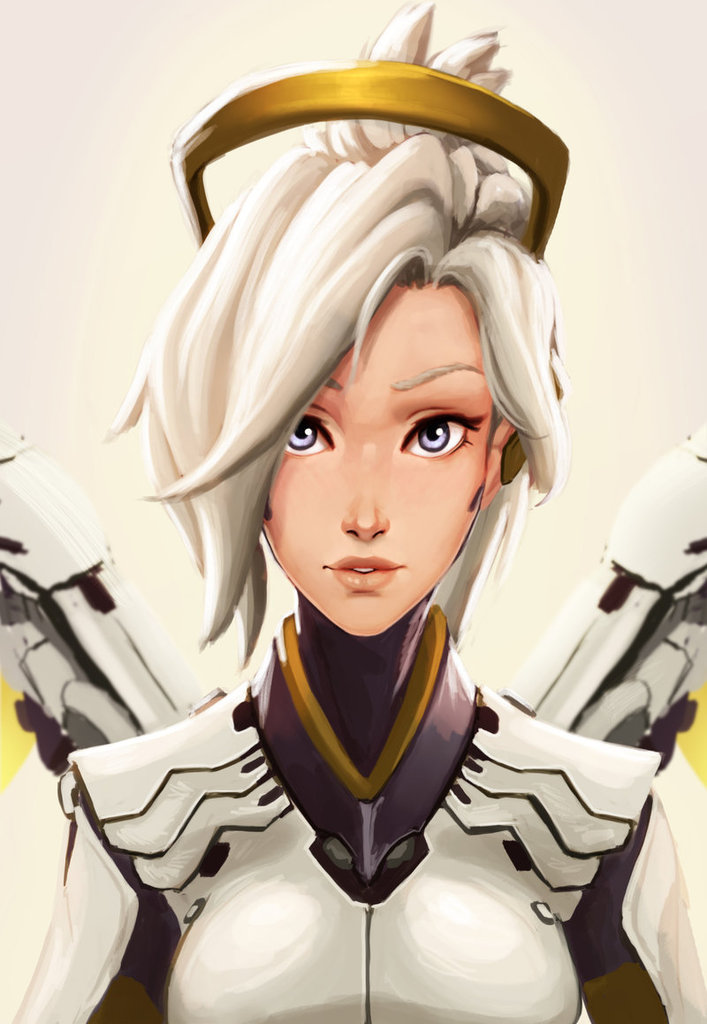Spam With Pics 2.0 - Page 39 Mercy_by_raichiyo33-d86azus