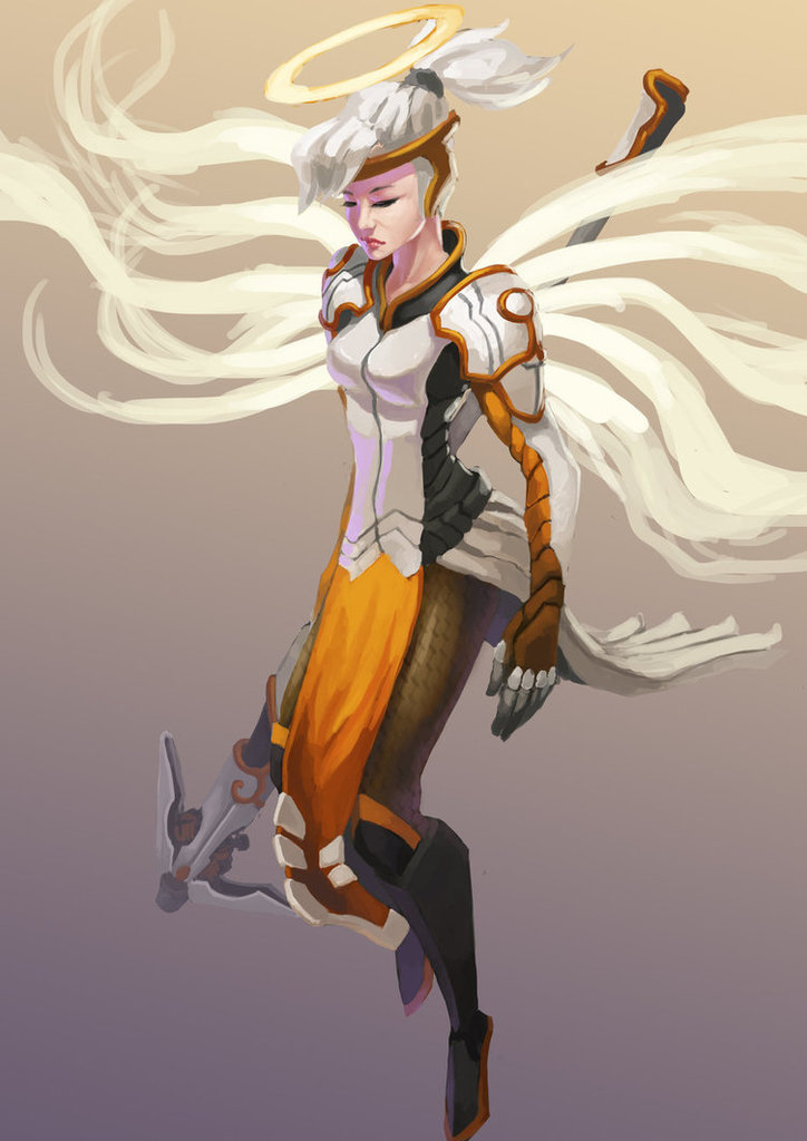 Spam With Pics 2.0 - Page 39 Mercy_overwatch_fanart_by_nightwalker0510-d8diecm