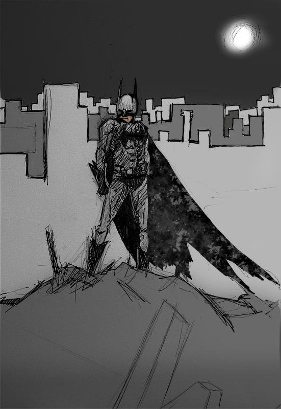 Mercy's Batman Art BatmanDarkKnight