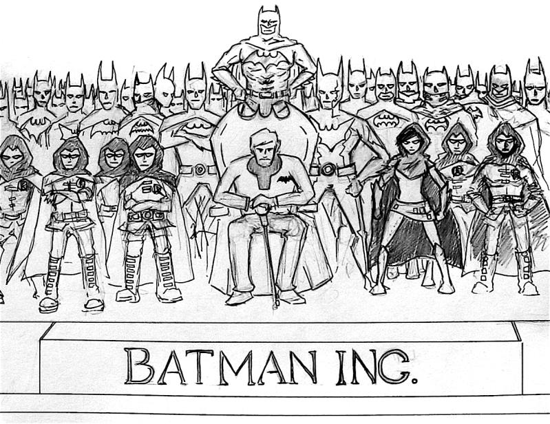 Teen Titans: Generations BatmanInc