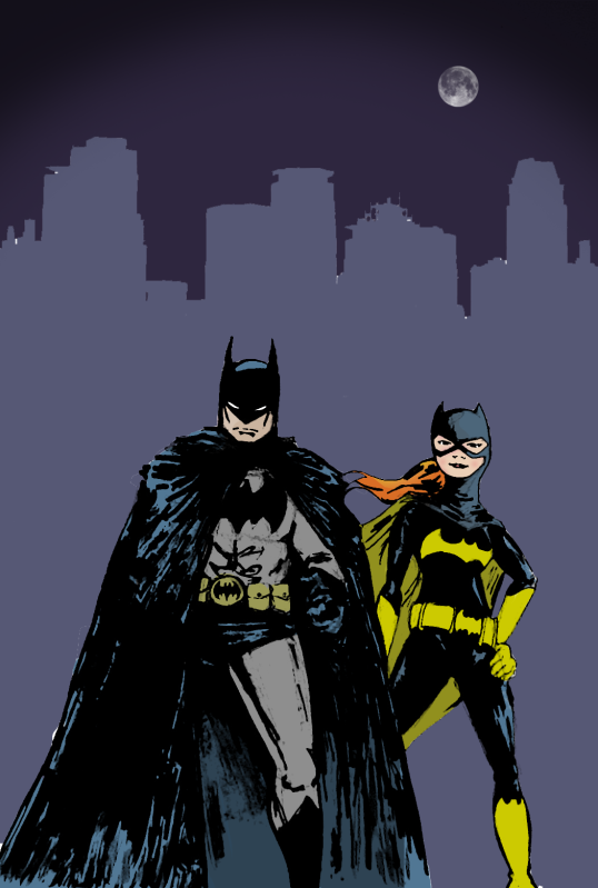 Mercy's Batman Art BatmanandBatgirl
