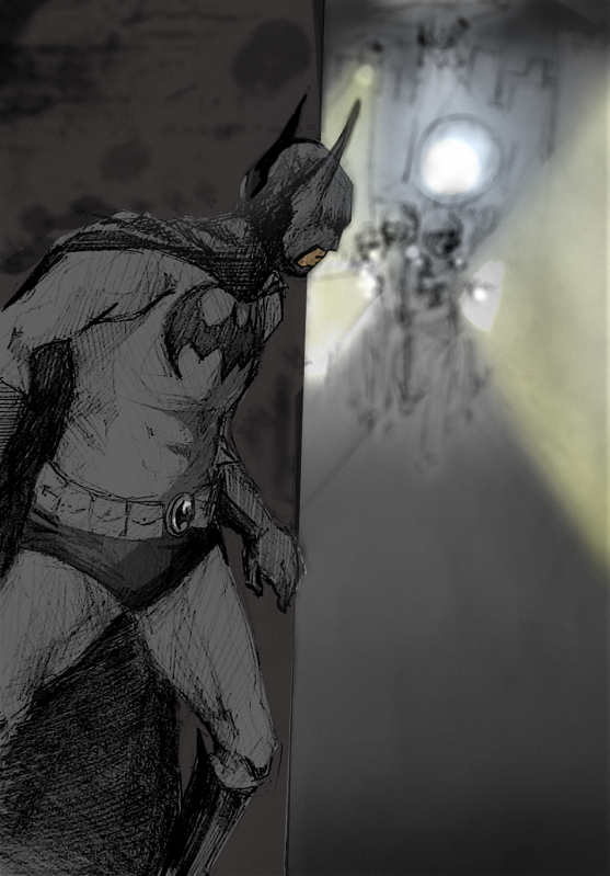 Mercy's Batman Art Wanted