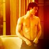 Damon +  I'm shocked! Stefan's not a virgin? Somerhalder40no2ShirtlessStripping
