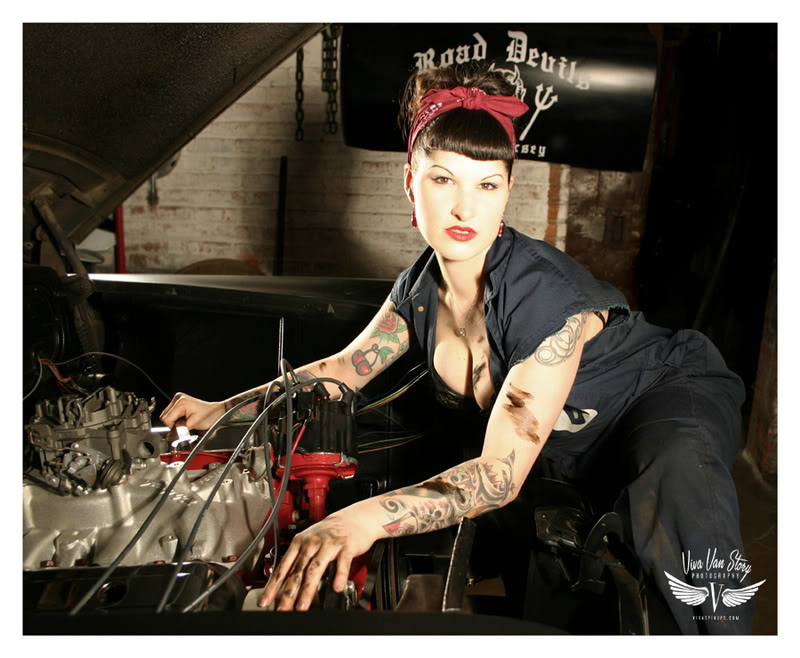 Silmailu - Pin-Up girls Road_Devils_Car_Club_GAL_by_vivavan