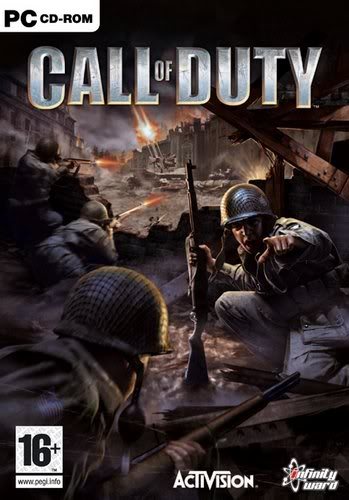 Call of Duty (03) + datadisk (United Offensive), Call od Duty 2 (05) / EN Boxshot_uk_large1349x500