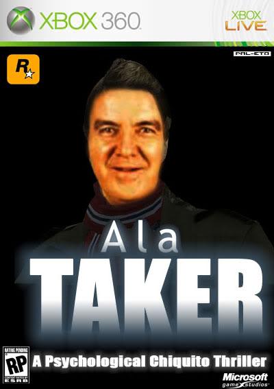 Portadas de juegos  fakes Alataker