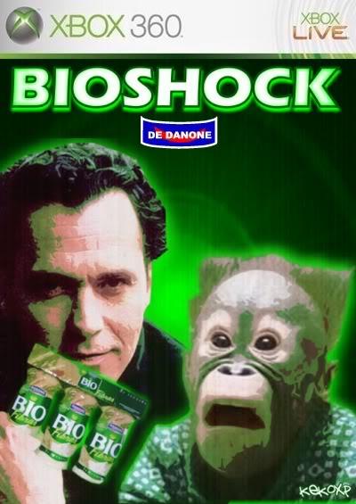 Portadas de juegos  fakes BIOSHOCK