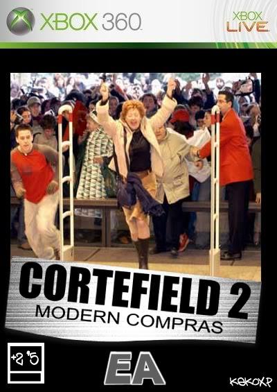 Portadas de juegos  fakes Cortefield