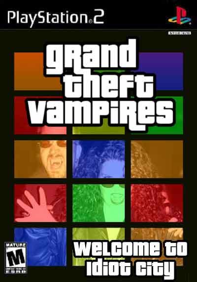 Portadas de juegos  fakes GTV