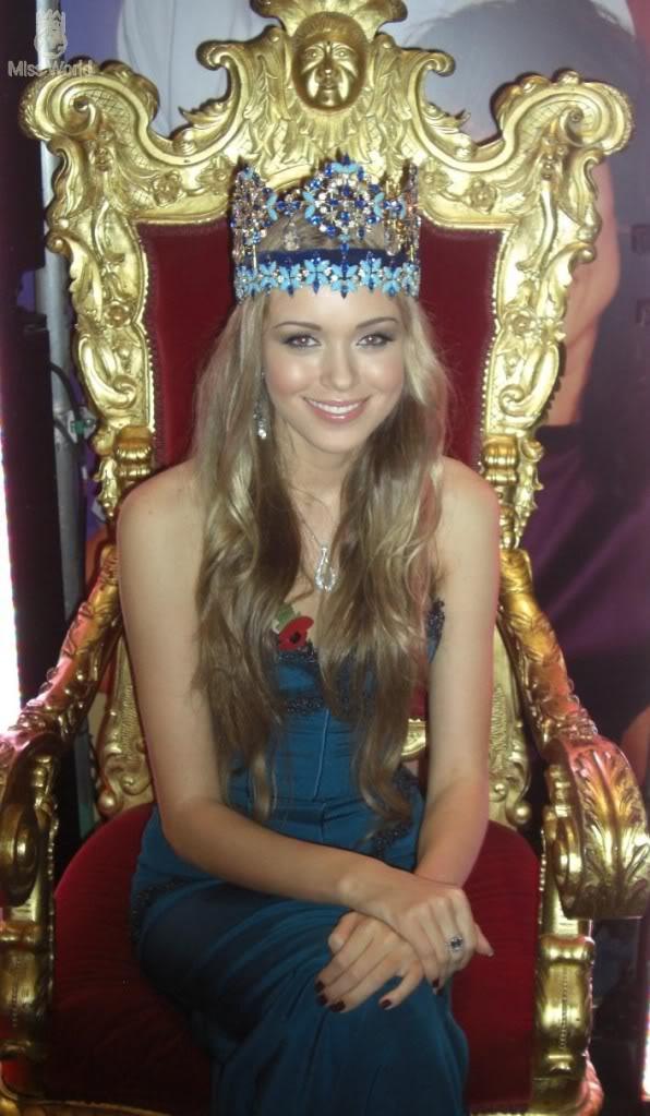 Official Thread of Miss World 2008 - Ksenia Sukhinova - Russia - Page 11 Oneshow8