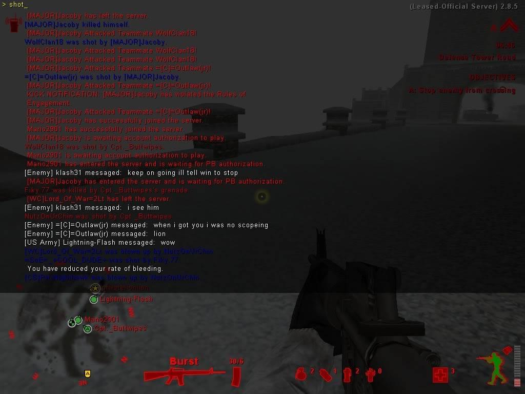 Team Killer [MAJOR]Jacoby Shot00122-1