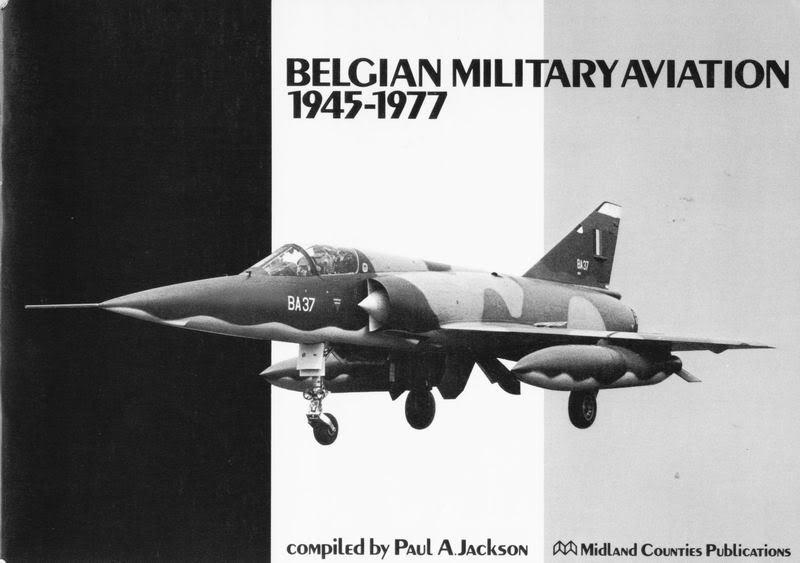 Force Navale en 1989 et 1990 BelgianMilitaryAviation1945-1977Mid