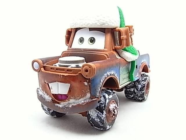 Santa Cars, Mater, Luigi, Guido, Fillmore guirlandes (Mater Saves Chistmas) RIMG8567