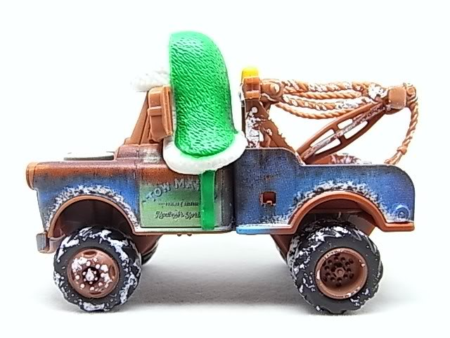 Santa Cars, Mater, Luigi, Guido, Fillmore guirlandes (Mater Saves Chistmas) RIMG8570