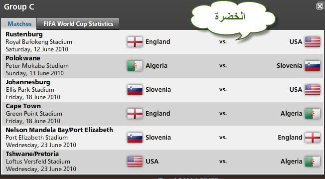 كل مباريات كأس العالم ..توقيتها .. وأين ستقام .. ** 016e489b9a