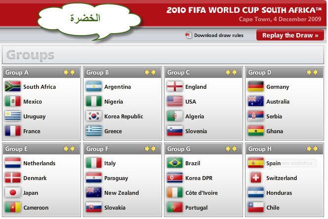 كل مباريات كأس العالم ..توقيتها .. وأين ستقام .. ** 2555942fbb