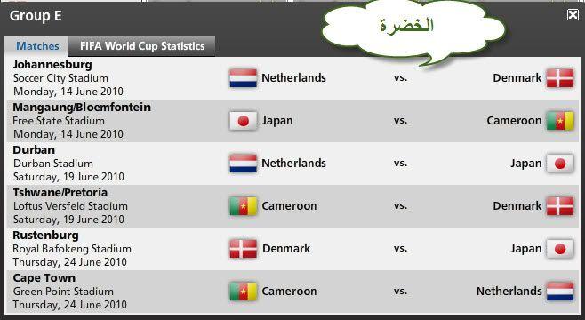 كل مباريات كأس العالم ..توقيتها .. وأين ستقام .. ** 3587391a36