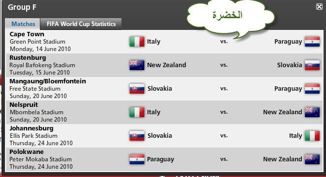 كل مباريات كأس العالم ..توقيتها .. وأين ستقام .. ** D835e32b97