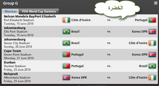 كل مباريات كأس العالم ..توقيتها .. وأين ستقام .. ** Fa1115ba91