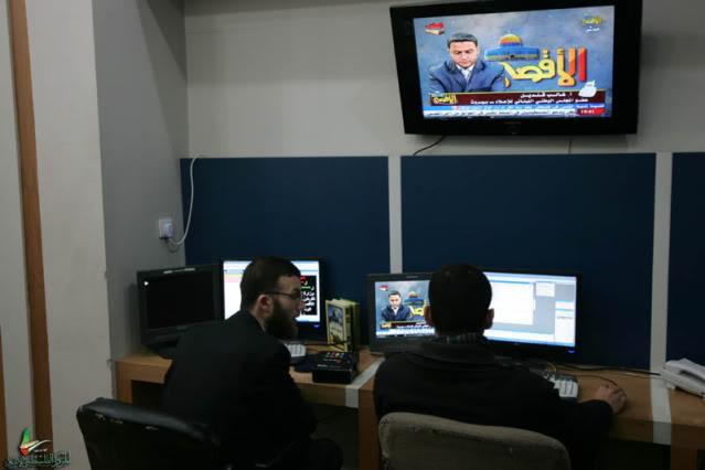 صور استيديوهات الاقصى +تلفزيون قناة الأقصــى تابعين لحماس بع امر أمريكا تجمد أرصدة بنك إسلامي  NQ6K5992