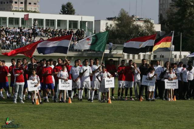صـــور / إنطلاق بطولة كأس العالم في غزة NQ6K0006