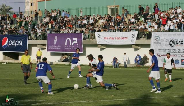صـــور / إنطلاق بطولة كأس العالم في غزة NQ6K0540