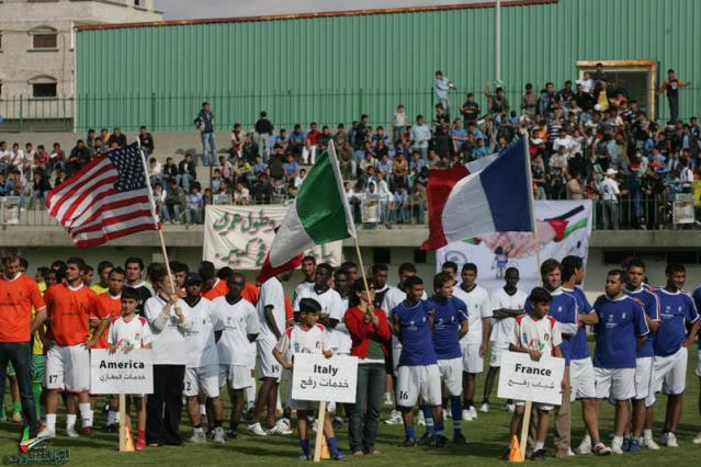 صـــور / إنطلاق بطولة كأس العالم في غزة NQ6K9870