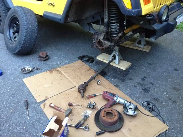 Andrew's Yellow Jeep Build. - Page 2 97700b0d