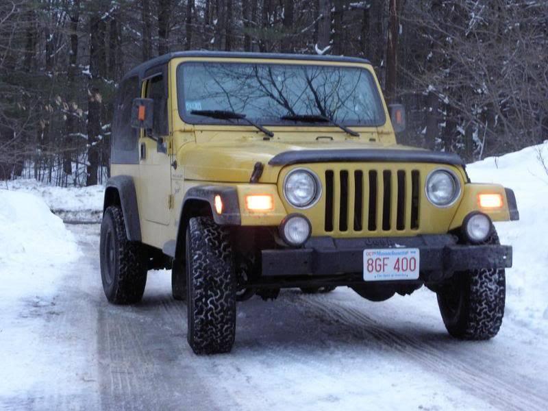 Andrew's Yellow Jeep Build. P1290006