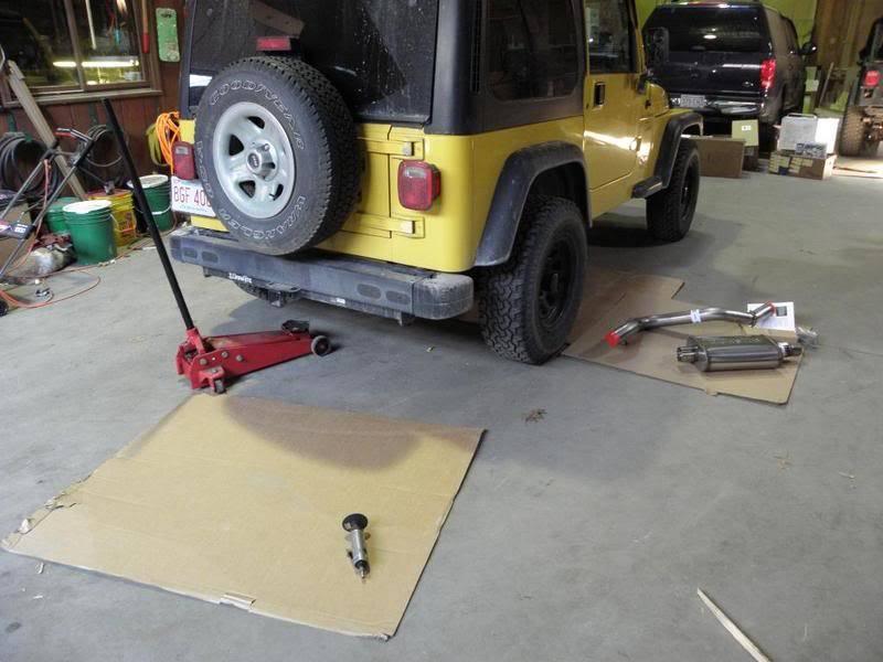 Andrew's Yellow Jeep Build. P3260061