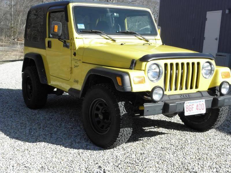 Andrew's Yellow Jeep Build. P3270073