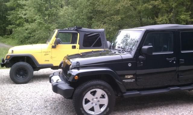 Andrew's Yellow Jeep Build. IMAG0077