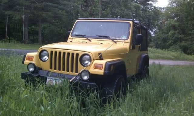 Andrew's Yellow Jeep Build. IMAG0104