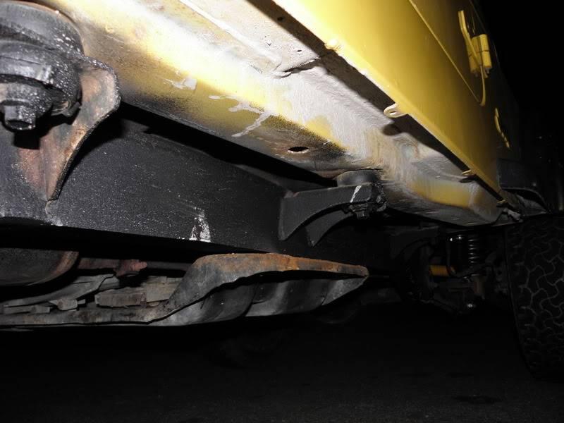Andrew's Yellow Jeep Build. 120226-2210-29