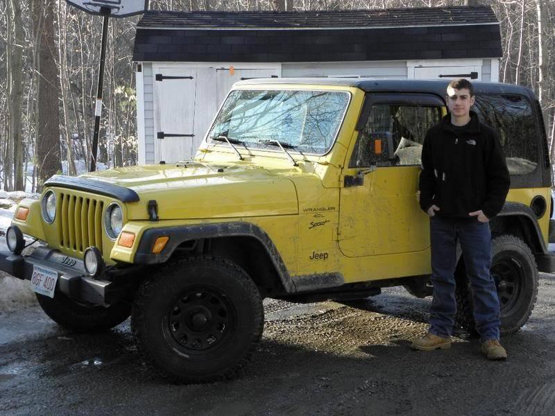 Andrew's Yellow Jeep Build. P3080033
