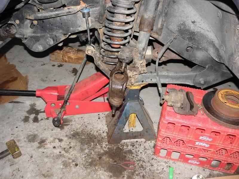 Andrew's Yellow Jeep Build. P4230101