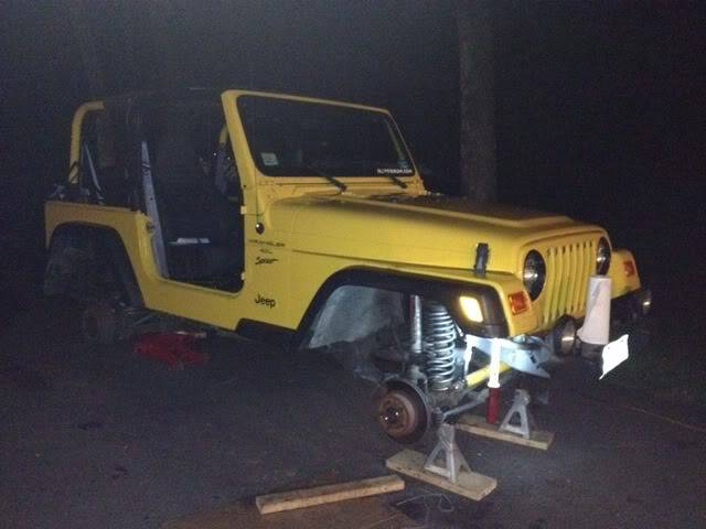 Andrew's Yellow Jeep Build. - Page 2 Ff48130f