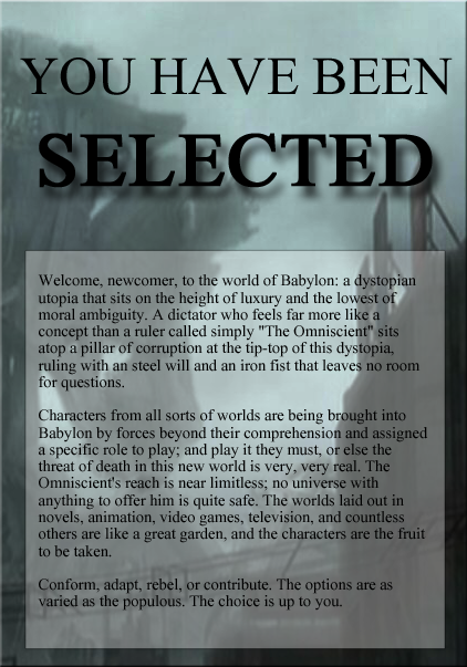 SELECTED;; NEW    PANFANDOM    DYSTOPIAN Adcopy_zpsc373f910